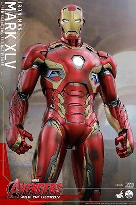 Hot Toys Avengers Age of Ultron Iron Man 1/4th scale Mark XLV Collectible Figure