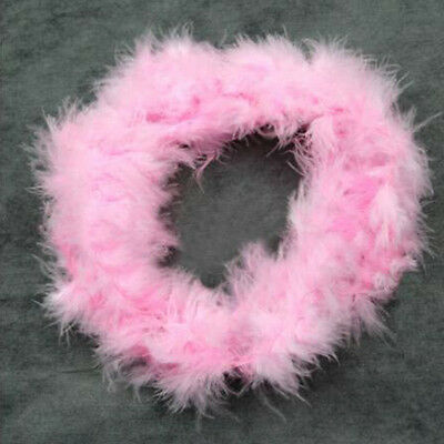 2m Feather Boa Fluffy Craft Costume Wedding Party Dressup Home Flower Decor Cele