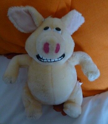 """Aardman Animations Creature Comforts Martin Pig 9"""" approx."""