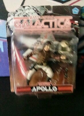 Battlestar Galactica Apollo Figure - on card - Series 2 - Joyride Studios 2005