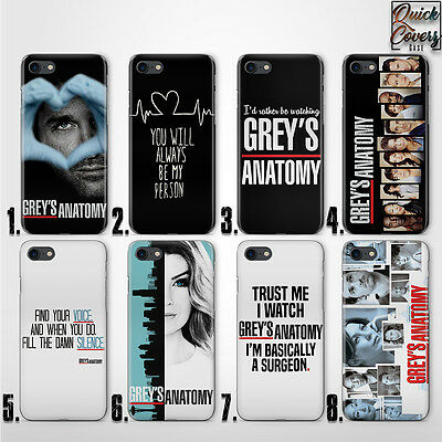 GRAY'S ANATOMY MEREDITH QUOTE UV CASE COVER FOR IPHONE 4/4s 5/5s/se 6/6s plus 7