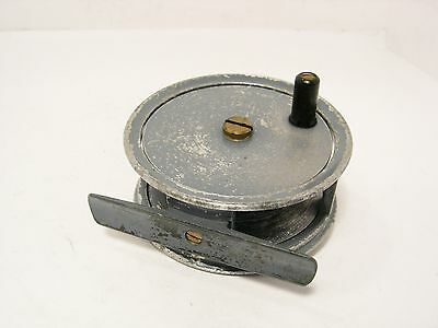 """Vintage Antique JW Young 2 ¾"""" Pattern 1A  Fly Fishing Reel"""