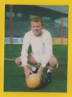 The  Sun  -  Rare  3D  Football  Card -  Billy Bremner Of Leeds  United  -  1972