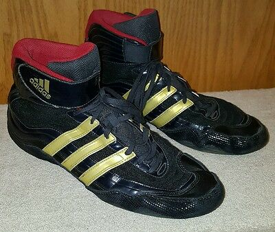 Adidas Wasp Wrestling Shoes Very Nice! Mens 13