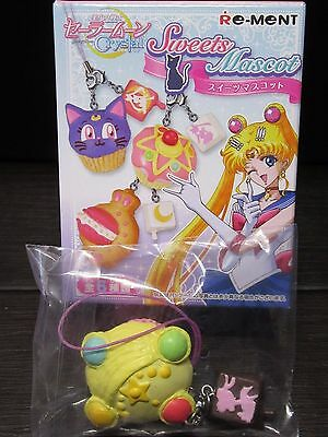 Sailor Moon Crystal Sweet Mascot Transformation brooch Cupcake 1.7in Charm Strap