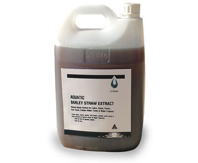 Aquatic Barley Straw Extract 5 lt - For Algae Control in Ponds & Small Dams