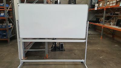 Whiteboard Mobile with Stand 1800 x 900