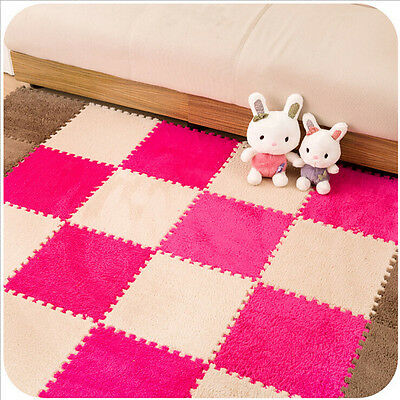 30*30CM living room bedroom children patchwork Splice puzzle climbing baby mat B