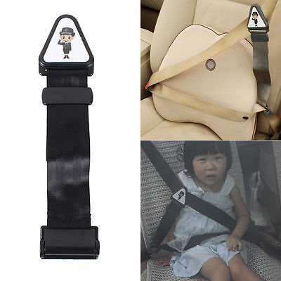 NEW Safety Car Seat Belt Fastener Clip Adjustable Lock Strap For Child Toddlers