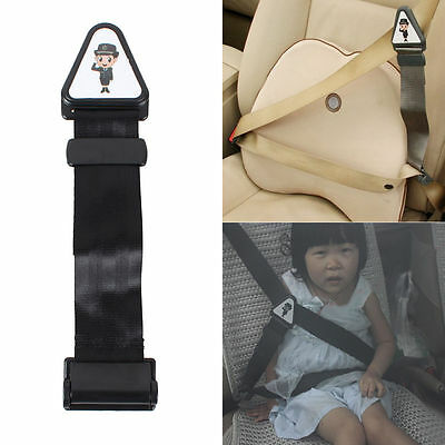 Safety Car Seat Belt Fastener Clip Adjustable Lock Strap For Kids Child Toddlers