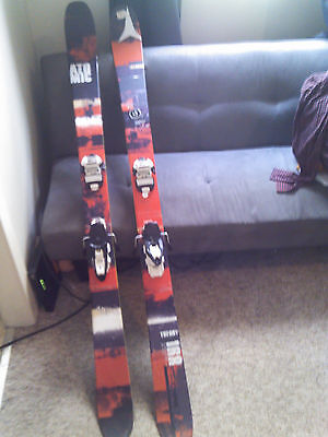 Atomic Theory 168cm Skis + Marker Squire Bindings