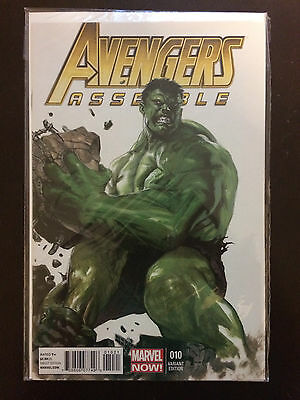 Avengers Assemble #10 Hulk 1:50 Variant from 2013. NM
