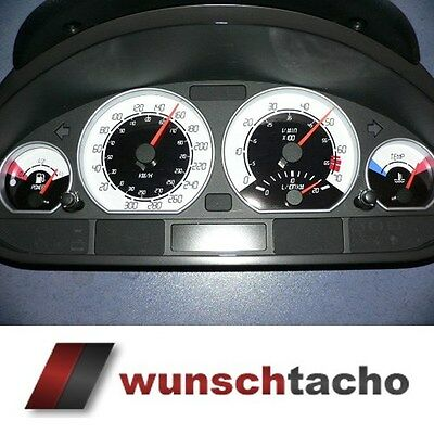 speedometer dial for BMW E46 Petrol Digital 310 Kmh without adjustment