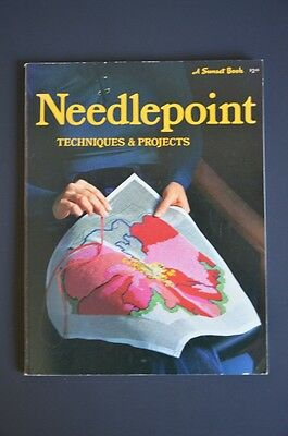 Needlepoint Techniques & Projects Sunset Book 1974 Paperback