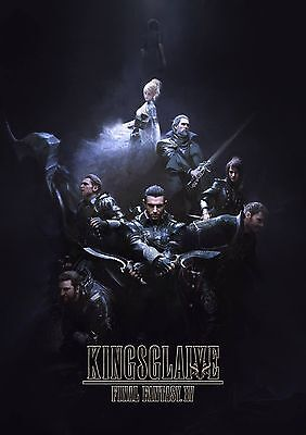 KINGSGLIEVE FINAL FANTASY 11x17 MINI MOVIE POSTER COLLECTIBLE