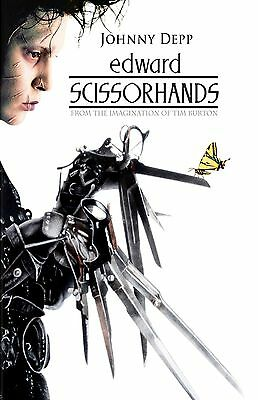 EDWARD SCISSOR HANDS 11X17 Movie Poster collectible RARE CLASSIC
