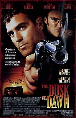 FROM DUSK TILL DAWN 11x17 mini movie poster collectible