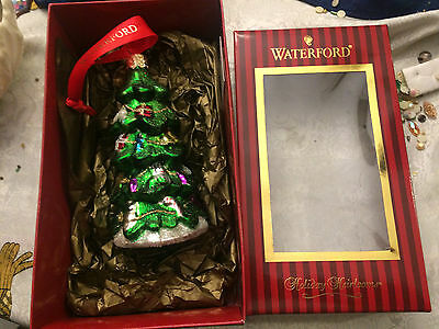 Waterford Holiday Heirloom Christmas Tree Ornament New in Box