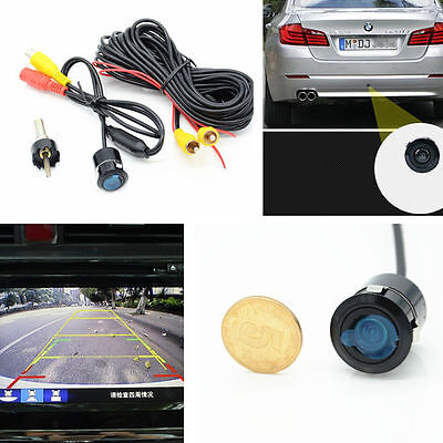 Car 170°Wide Angle Night Vision Rearview Backup Reverse Parking Waterproof Camer