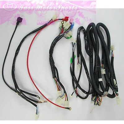 geniune kandi parts wire harness for kd 150gkm 2 150cc go kart genuine kandi parts wire harness for 250cc 250fs go kart dune buggy