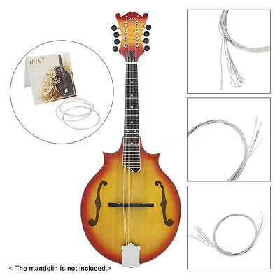 High-quality Mandolin Strings Plated Steel Silver-plated Copper Alloy Wound L9L6