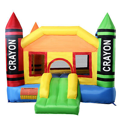 Inflatable Bouncy Castle Outdoor Garden Kids Jumper House Activity Centre Fun