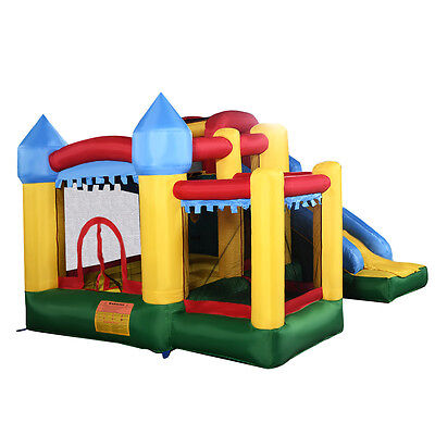 Inflatable Bouncy Castle Outdoor Garden Bouncer Jumping House Kids Climb Slide