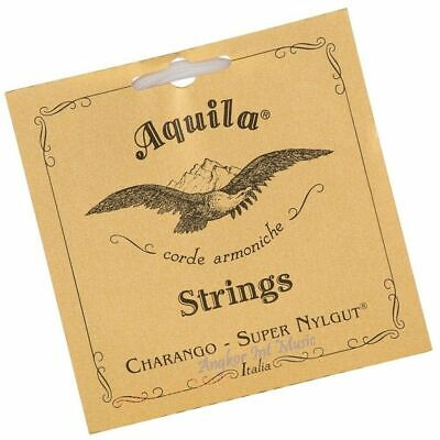 Aquila Charango Strings Set 1CH - Nylgut  Medium Tension - Made In Italy