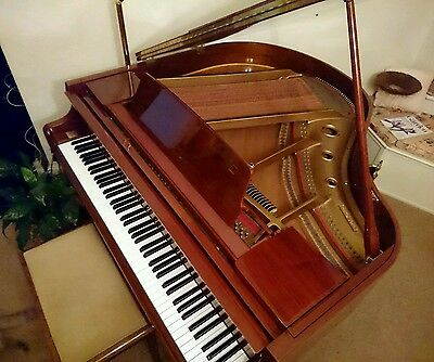 Reid Sohn Baby Grand piano in walnut SG-140A