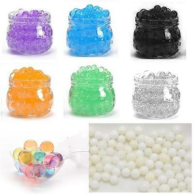 10000pc Crystal Soil Water Pearls Jelly Balls Beads Wedding Decor Vase Filler GL