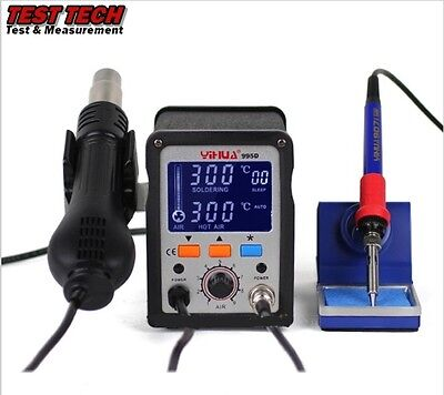 YiHUA 995D 2 in 1 Hot Air Rework Station with Soldering Iron (ON SALE)