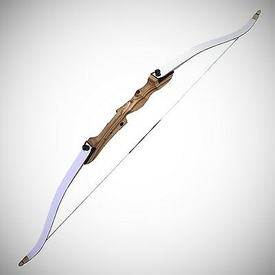 """SF Optimo+ 66"""" Take Down Target/Field Archery Hunting Recurve Bow Set and Arrows"""