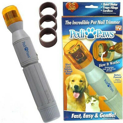 Dog & Cat Nails Pedipaws New Pet Nail Trimmer New Quick&Safe