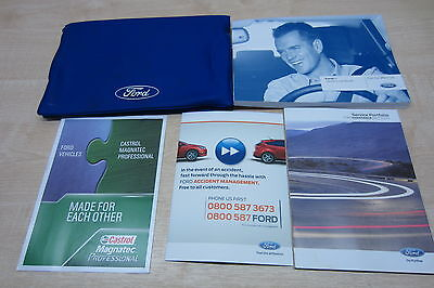 FORD KA 2008-2016 Owners Manual Handbook & SERVICE BOOK with Wallet Pack