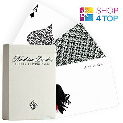 Ellusionist Madison Dealers Green Marked Bicycle Playing Cards Deck Magic Tricks