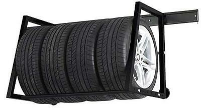 Car Wheel & Tyre Wall Mountable Storage Rack. Holds 180KG!
