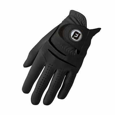 FOOTJOY WeatherSof Mens BLACK Golf Glove - RIGHT HANDED GOLFERS