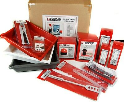 Paterson Film&Print Kit PTP572