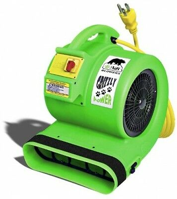 B-Air 1 HP 3550 CFM Air Mover Carpet/ Floor Dryer Blower Fan for Water Damage