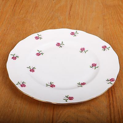 Colclough Bone China Small Plate Made in England Rose Pattern A861