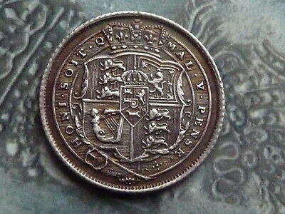 sixpence coin 1816 very high grade superb toning