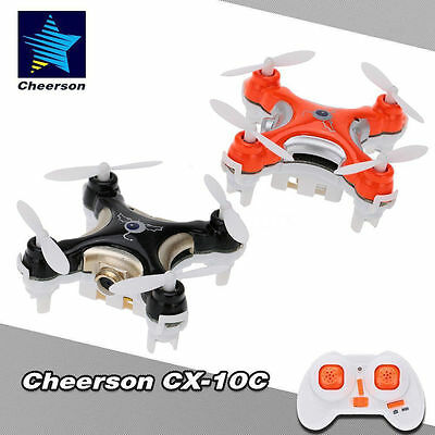 Small Drone Helicopter 4CH 6-Axis Mini RC Quadcopter with 0.3MP Camera Led Light