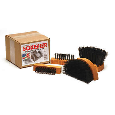 GRAINGER APPROVED Brush Set for Standard Scrusher(r), SB-M1