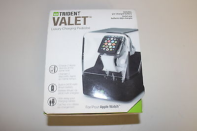 Trident Case Odyssey Valet Portable Charging Pedestal for 38mm/42mm Apple Watch