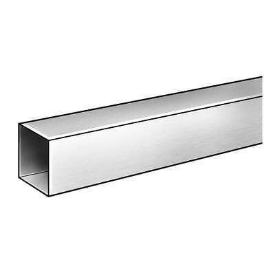 GRAINGER APPROVE Stainless Steel Sq Tube,304SS,1/2 OD Sq x 3/8 ID Sq,6 ft, 4YUJ3