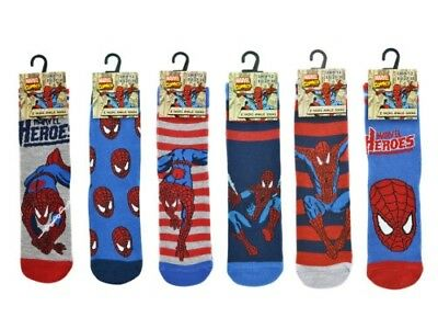 Official Spiderman Boys' Cotton Socks