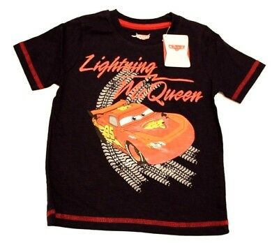 Boys Lightning McQueen Short Sleeve T-Shirt