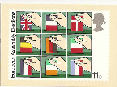 GREAT BRITAIN -  EUROPEAN ASSEMBLY -  POST CARD PHQ35(c) - 1979