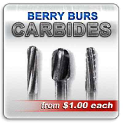 Fg702 Operative Carbide Dental Bur Burr Burs Burrs Clinic Pack 100 Pieces 702 !!