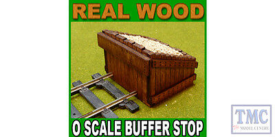 PBF-OS-08 Proses O Scale Scale Authentic Wood Buffer Stop Kit 2